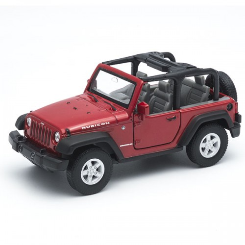 Машинка 1:34-39 Jeep Wrangler Rubicon Welly