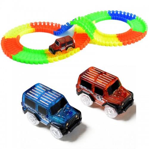 Машинка для гибкого трека Magic Tracks синяя