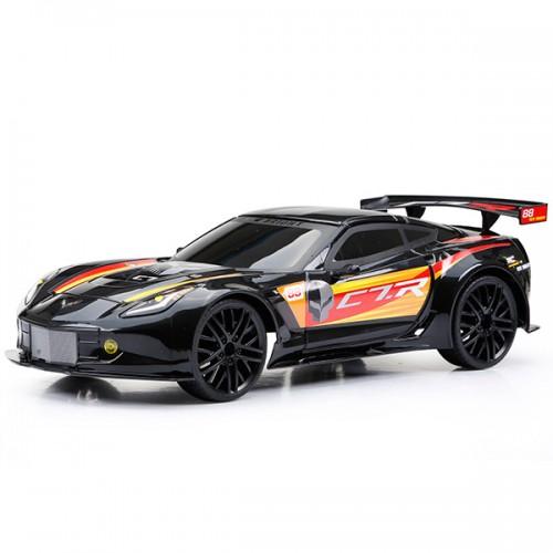 Машинка р/у Corvette C7R (Чёрный) New Bright