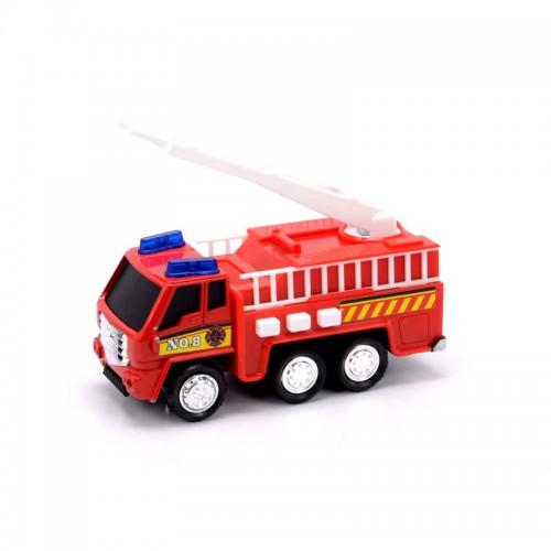 Пожарная машина со светом и звуком 12 см. Soma