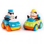 Спасательные машинки (2 шт/уп): техническая помощь+полиция Hap-p-Kid