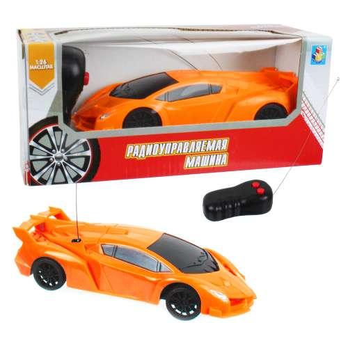 Спортавто Машина на радиоуправлении масштаб 1:26 оранжевая 1TOY