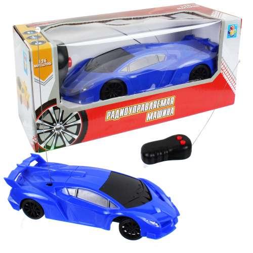 Спортавто Машина на радиоуправлении масштаб 1:26 синяя 1TOY