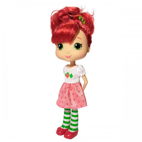 Шарлотта Земляничка Кукла Земляничка для моделирования причесок, 28 см, кор. (Strawberry Shortcake)