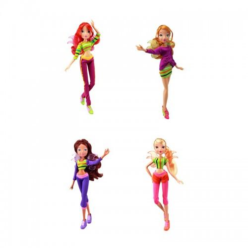 Кукла WINX CLUB Хип-хоп, 4 шт. в ассортименте Winx IW01831400