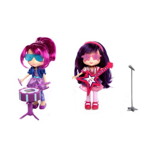 Шарлотта Земляничка Кукла 15 см с музыкальным инструментом (Strawberry Shortcake)