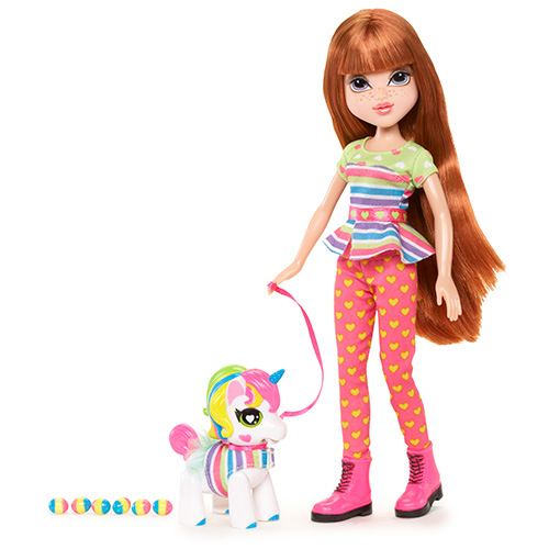 Кукла Мокси С питомцем, Келлан+Единорог Moxie