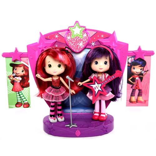Шарлотта Земляничка Две куклы 15 см на сцене, кор. (Strawberry Shortcake)