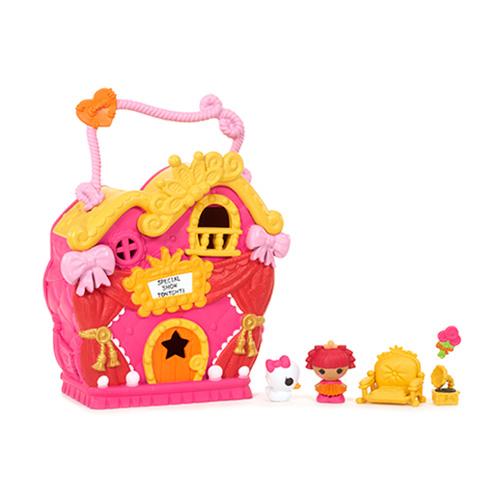 Игровой набор Домик принцессы с малюткой Лалалупси