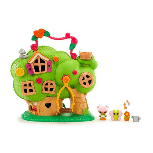 Игровой набор Tinies Домик на дереве Лалалупси
