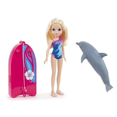 Кукла Мокси с плавающим дельфином, Эйвери Moxie