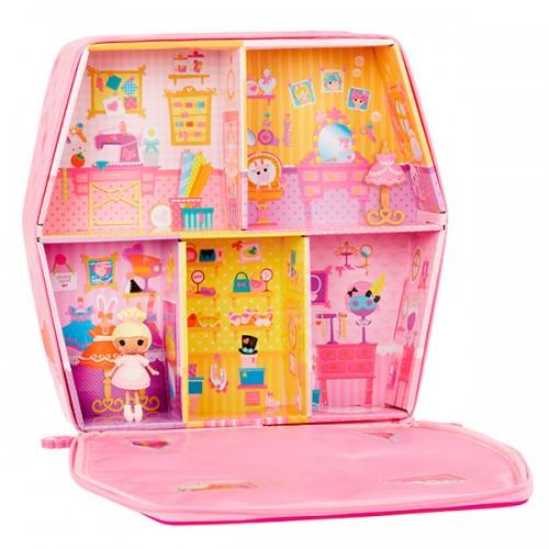Домик-переноска с куклой Mini и аксессуарами Лалалупси