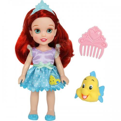 Ариэль 15 см Кукла Принцессы Дисней Малышка с питомцем