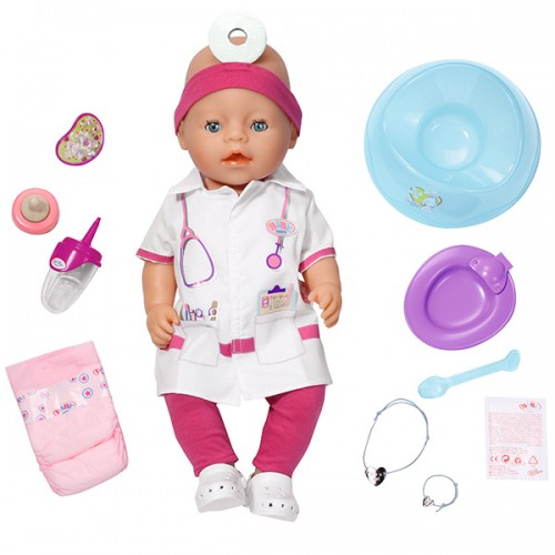 BABY born Кукла Доктор Интерактивная, 43 см Zapf Creation