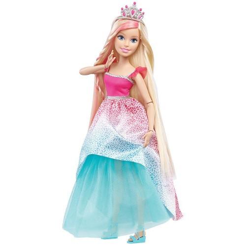 Большая кукла с длинными волосами Блондинка Barbie Барби