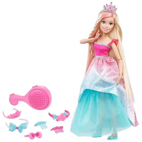 Большая кукла с длинными волосами Barbie Барби