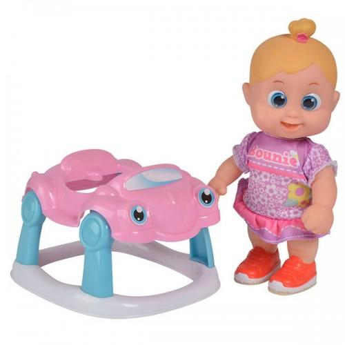Bouncin' Babies Кукла Бони 16 см с машиной