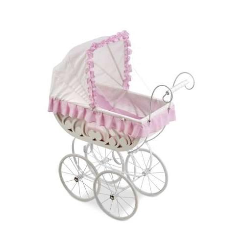 ELEGANCE коляска-люлька для кукол с постелькой, 70x33x86 см Arias