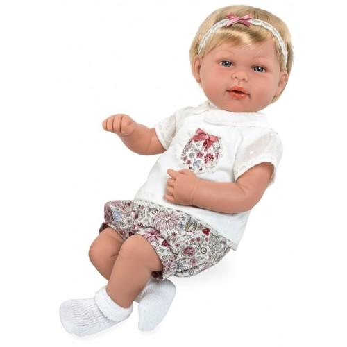 Elegance кукла 45 см. в одежде мягкое тело функциональная Arias