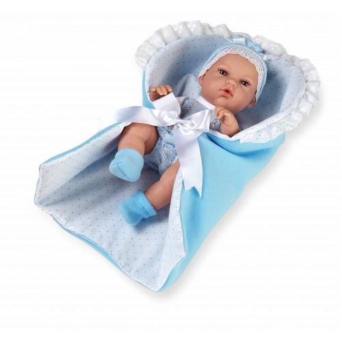 ELEGANCE кукла винил 33 см голубой конверт Arias
