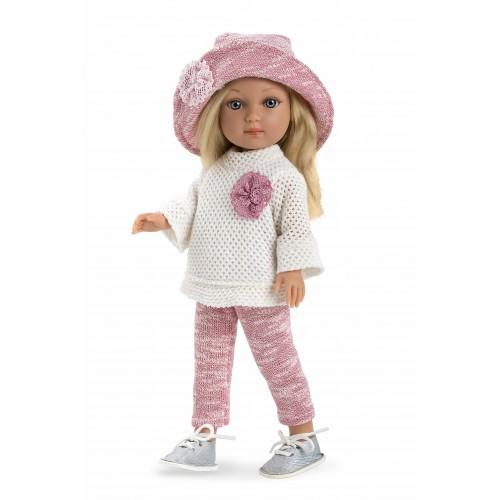 ELEGANCE кукла винил 36 см. в одежде Arias