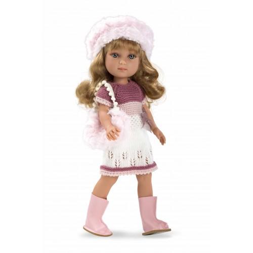 ELEGANCE кукла винил 36 см в платье с сумочкой Arias
