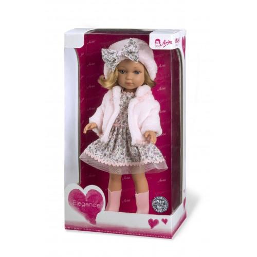 ELEGANCE кукла винил 36 см. в платье Arias
