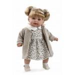 ELEGANCE мягкая кукла 42 см. в одежде бежевой девочка Arias