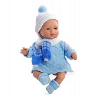 ELEGANCE мягконабивная виниловая кукла 28 см функциональная Arias
