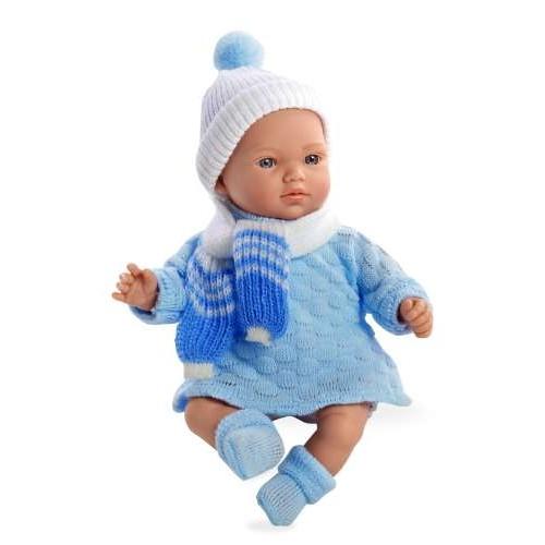 ELEGANCE мягконабивная виниловая кукла 28 см функциональная Arias Т59781