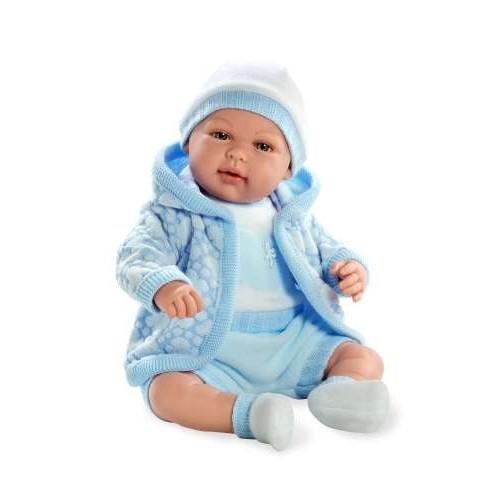 ELEGANCE мягконабивная виниловая кукла 45 см функциональная Arias Т59790