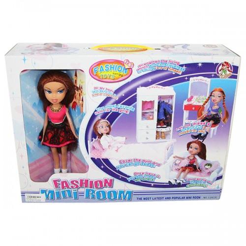 Игровой набор мебель с куклой Tongde