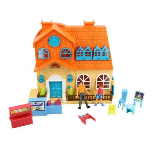 """Игровой набор """"Мой маленький мир"""": домик, аксессуары, фигурки 1TOY"""