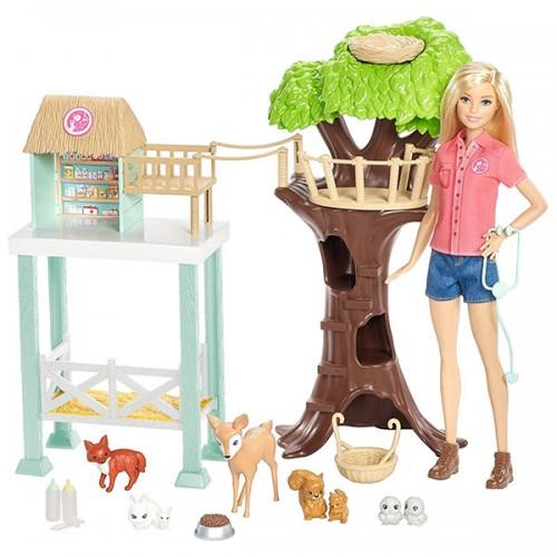 Игровой набор «Спасатель животных» Barbie Барби