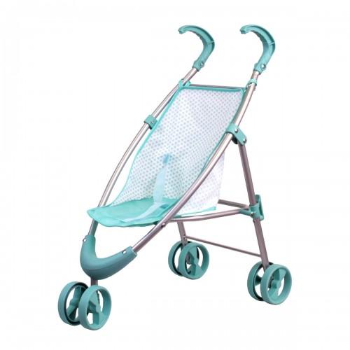 Коляска прогулочная мятная (передние колеса вращаются) Gulliver