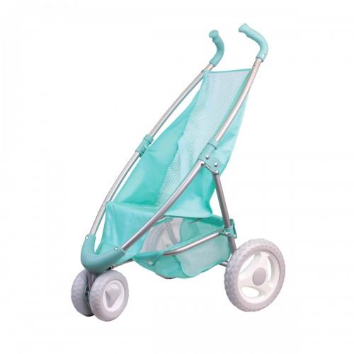 Коляска прогулочная мятная (поворотные передние колеса) Gulliver