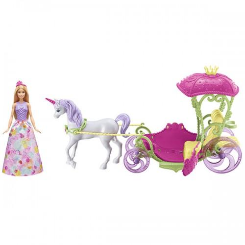 Конфетная карета и кукла Barbie Барби