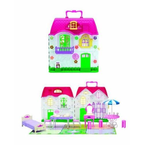 Красотка дом для кукол с мебелью 28 дет 1TOY