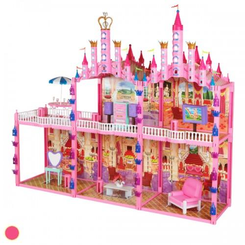 Красотка Замок для кукол с мебелью 187дет. 1TOY