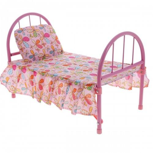 Кроватка для кукол цветочный принт 1TOY