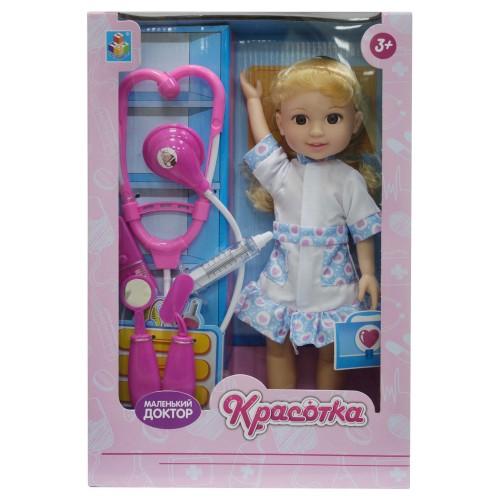 Кукла Красотка Маленький Доктор блондинка