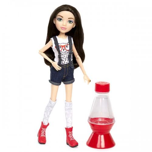 Кукла с набором для экспериментов МакКейла с нарисованными глазами Project MС2