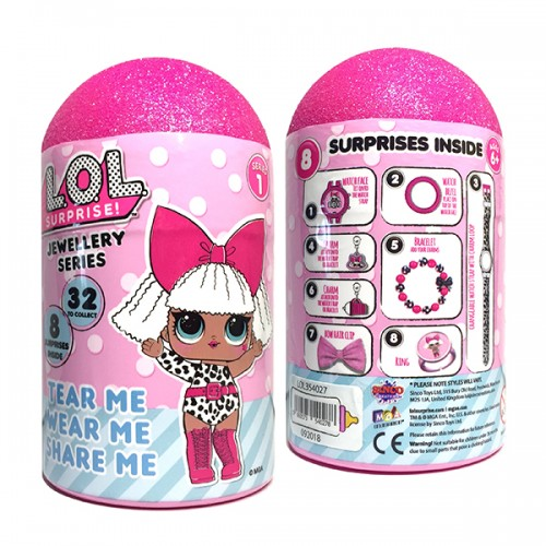 LOL Набор украшений с часами для девочки Sinko Toys LOL354027