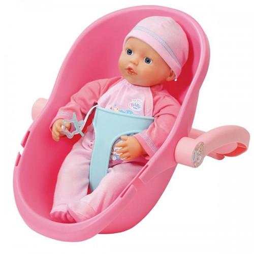 My little BABY born Кукла 32 см и кресло-переноска Zapf Creation