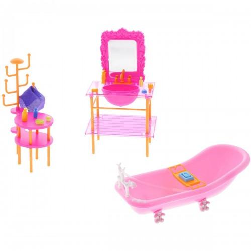 Набор мебели для кукол - Ванная 1TOY