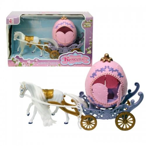 """""""Красотка. Волшебная сказка"""" карета с лошадкой"""