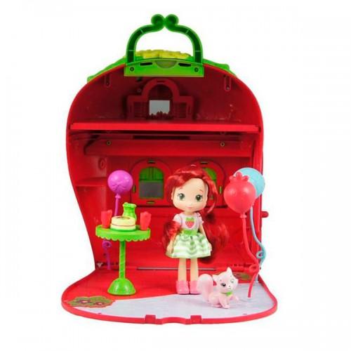 Шарлотта Земляничка Набор Кукла 15 см с домом и аксессуарами
