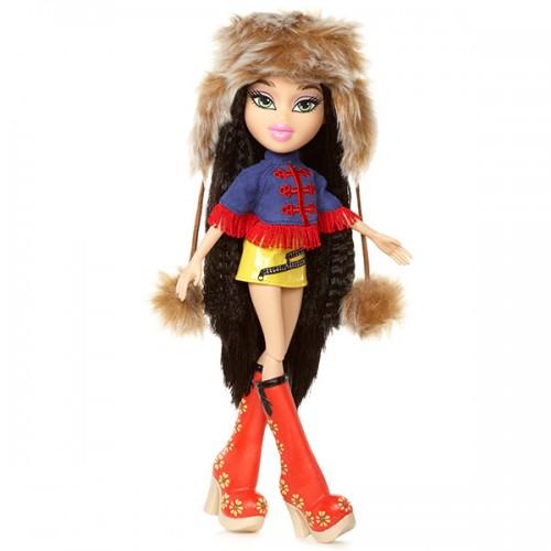 В путешествии, кукла делюкс Джейд Bratz (Братц)