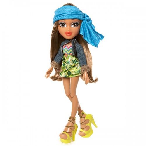 В путешествии, кукла делюкс Жасмин Bratz (Братц)