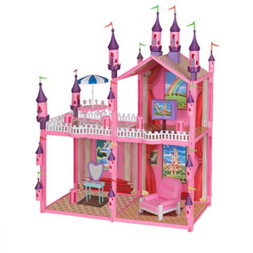 Замок для кукол с мебелью 102 дет. 1TOY